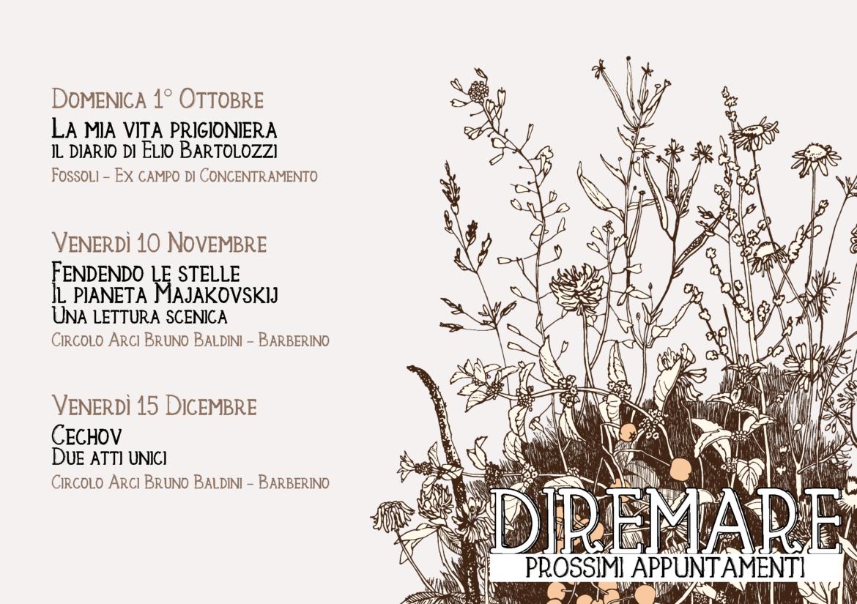 Prossimi appuntamenti: Ottobre – Dicembre
